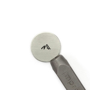Metal Stamping Tools ImpressArt Mountains Metal Design Stamp, 6mm