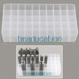 Metal Stamping Tools Design Stamp Holder, 12mm Holes, 50 Holes