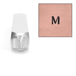 Metal Stamping Tools ImpressArt Mu Greek Letter Design Stamp, 6mm