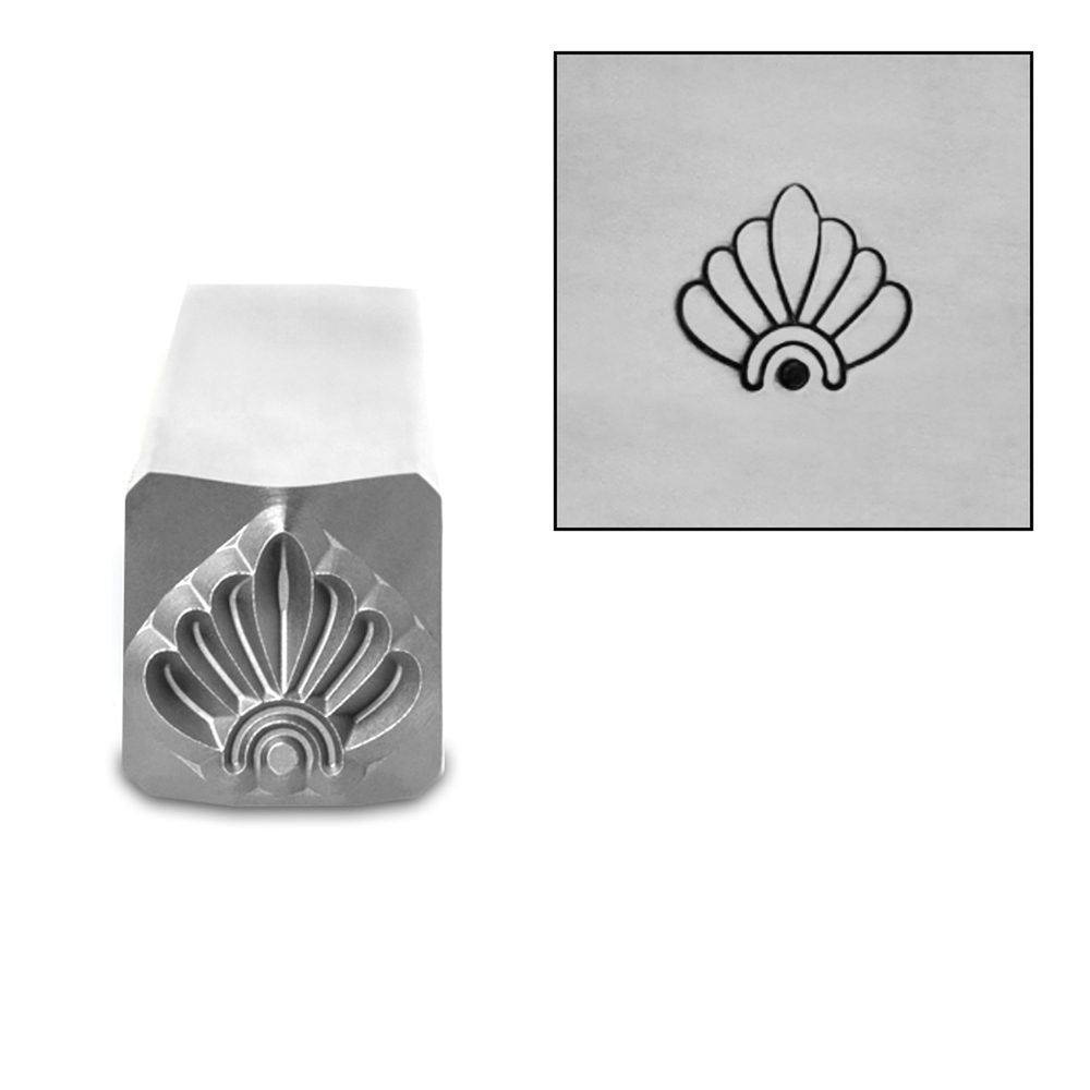 Metal Stamping Tools Art Deco Pattern 1 Metal Design Stamp, by Stamp Yours
