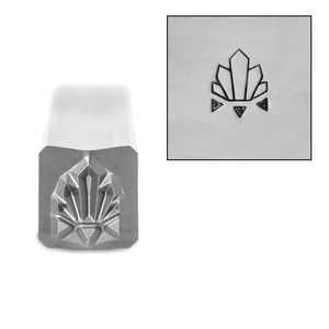 Metal Stamping Tools Art Deco Pattern 3 Metal Design Stamp, 6mm, by Stamp Yours