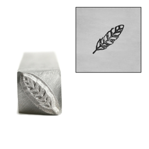 Metal Stamping Tools Feather Metal Design Stamp, 11mm