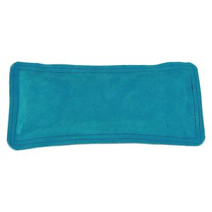 "Jewelry Making Tools Sandbag, Ring Mandrel Pad - 12"" x 5.5"" Teal Leather/Suede"