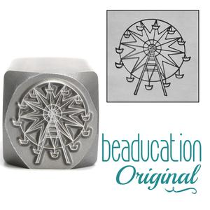Metal Stamping Tools Ferris Wheel Metal Design Stamp, 16mm - Beaducation Original