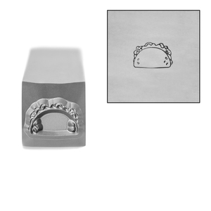 Metal Stamping Tools Taco Metal Design Stamp, 6mm by Stamp Yours