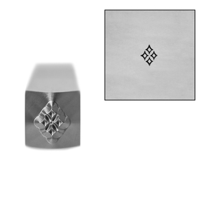 Metal Stamping Tools Quad Diamond Metal Design Stamp, 3.5mm by Stamp Yours