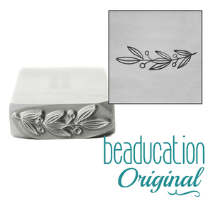 Metal Stamping Tools Winter Garland Metal Design Stamp, 16.5mm - Beaducation Original
