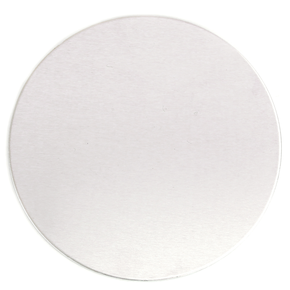 "Metal Stamping Blanks Aluminum Round, Disc, Circle / Coaster Blank, 102mm (4""), 10 Gauge"