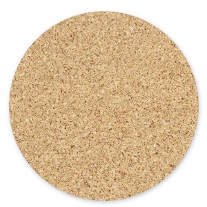"Cork Pad with Sticky Backing for 4"" Aluminum Circle Coaster,  102mm (4"")"
