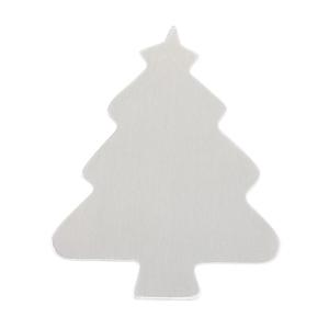 "Metal Stamping Blanks Aluminum Tree, 55.5mm (2.2"") x 46.8mm (1.8""), 18g"