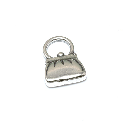 Charms & Solderable Accents Sterling Silver Purse Charm