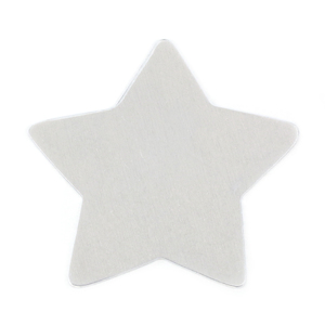 "Metal Stamping Blanks Aluminum Star, 56mm (2.3""), 18g"