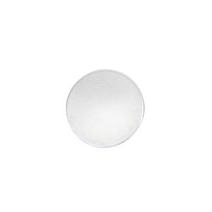 "Metal Stamping Blanks Aluminum Round, Disc, Circle, 12.7mm (.50""), 14g, Pk of 5 - Tumbled"