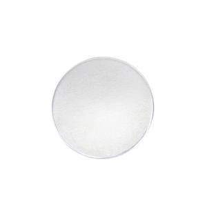 "Metal Stamping Blanks Aluminum Round, Disc, Circle, 19mm (.75""), 14g, Pk of 5 - Tumbled"