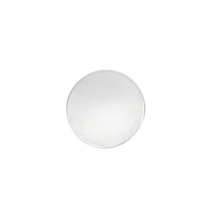 "Metal Stamping Blanks Aluminum Round, Disc, Circle, 12.7mm (.50""), 12g, Pk of 5 - Tumbled"