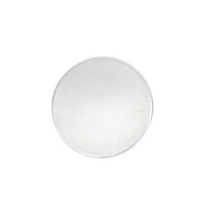 "Metal Stamping Blanks Aluminum Round, Disc, Circle, 19mm (.75""), 12g, Pk of 5 - Tumbled"