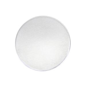"Metal Stamping Blanks Aluminum Round, Disc, Circle, 25mm (1""), 12g, Pk of 5 - Tumbled"