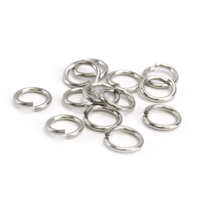 Jump Rings Stainless Steel 8mm I.D. 14 Gauge Jump Rings, 1/4 Ounce Pack