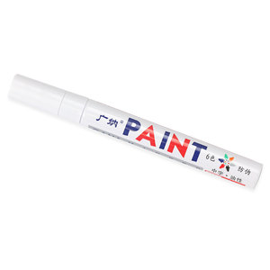 Metal Stamping Tools White Permanent Waterproof Ink Paint Pen / Marker