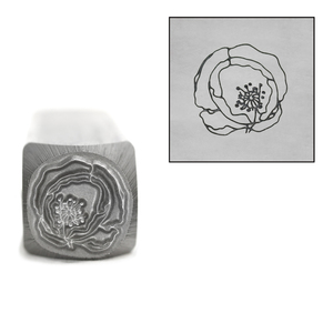 Metal Stamping Tools Mistress Poppy Metal Design Stamp, 10mm by Little Freckle
