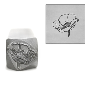 Metal Stamping Tools Mr. Poppy Metal Design Stamp, 11mm by Little Freckle
