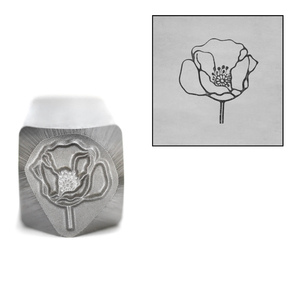 Metal Stamping Tools Mrs. Poppy Metal Design Stamp, 10mm by Little Freckle