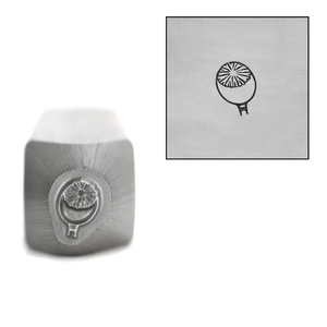 Metal Stamping Tools Poppy Bud Metal Design Stamp, 6mm by Little Freckle