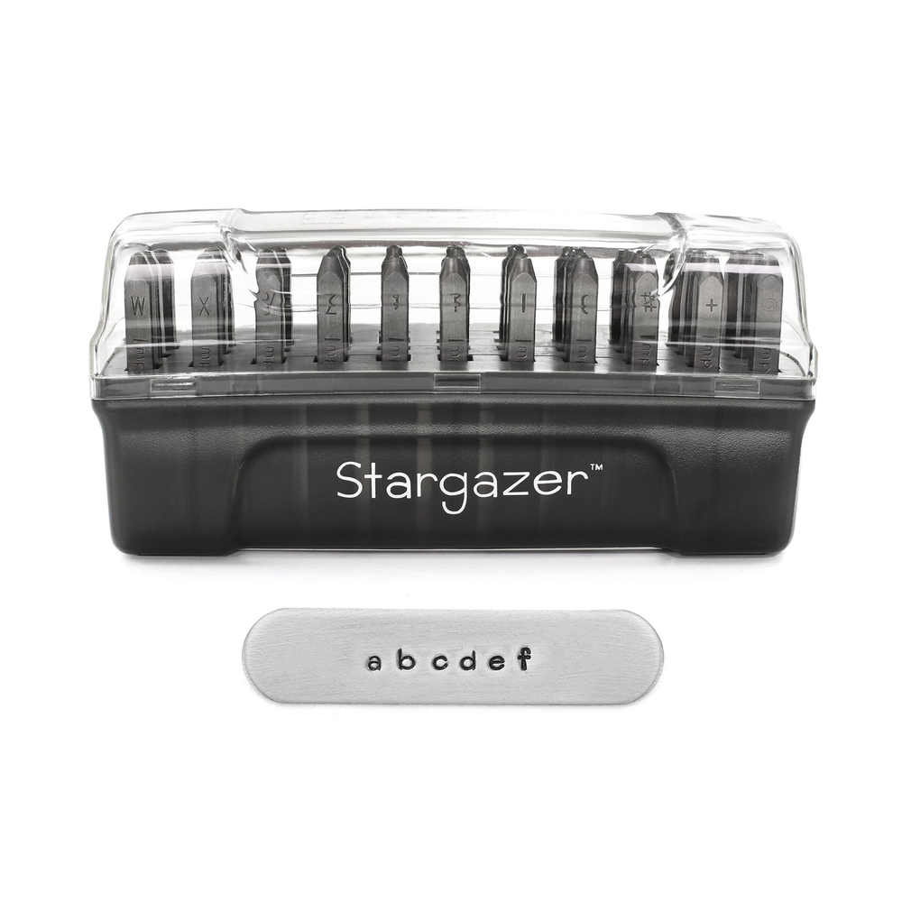 Metal Stamping Tools Impressart Stargazer Lowercase Letter Set, 2mm
