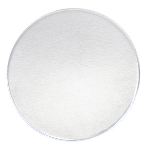 """Metal Stamping Blanks Aluminum Round, Circle, Disc 50mm (2""""), 14 Gauge"""