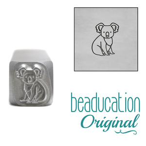 Metal Stamping Tools Koala Metal Design Stamp, 7.5mm - Beaducation Original
