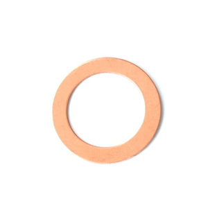 "Metal Stamping Blanks Copper 7/8"" Washer, 5/8"" ID, 24g"