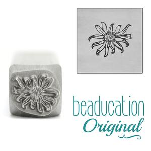 Metal Stamping Tools Wildflower Daisy Metal Design Stamp 10.5mm - Beaducation Original