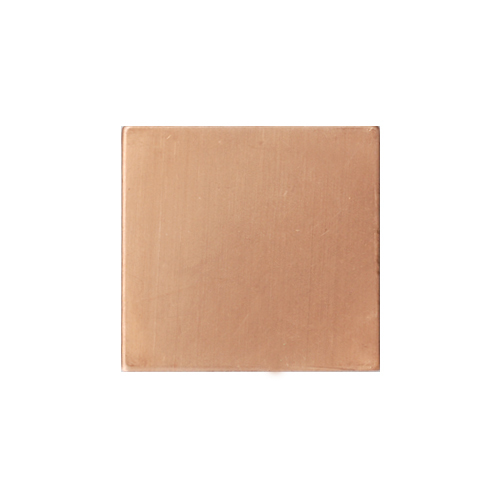 "Metal Stamping Blanks Copper 3/4"" (18.5mm) Square, 24g"
