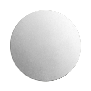 "Metal Stamping Blanks Alkeme Round, Disc, Circle, 38mm (1.5""), 18 Gauge, Pack of 4"