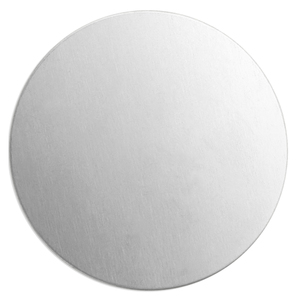 "Metal Stamping Blanks Aluminum Round, Disc, Circle 63.5mm (2.5""), 14 Gauge"