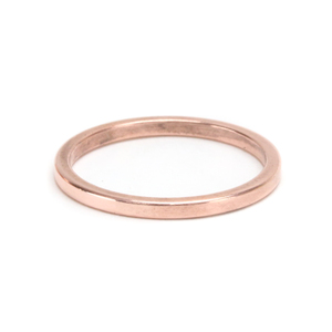 Metal Stamping Blanks Copper Ring Stamping Blank, 1.6mm Wide, SIZE 4