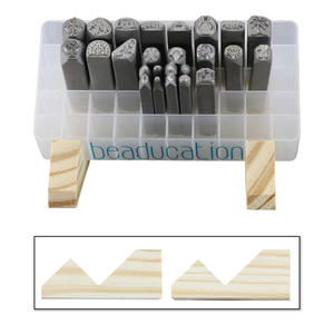 Jewelry Making Tools Stand for 50 Hole Stamp Holder