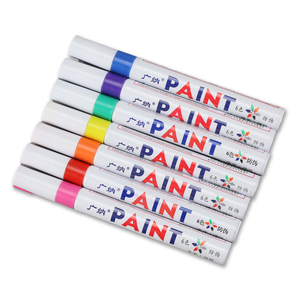 Metal Stamping Tools Permanent Waterproof Ink Paint Pen / Marker, Set of 7 Colors