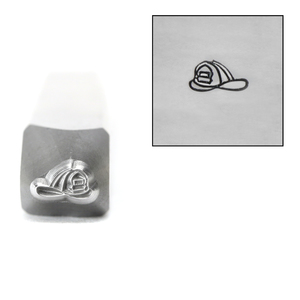 Metal Stamping Tools Firefighter Helmet Metal Design Stamp, 5mm, by Stamp Yours