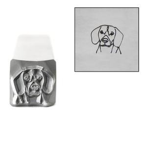 Metal Stamping Tools Beagle Metal Design Stamp, 8mm, by Stamp Yours