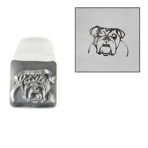 Metal Stamping Tools Bulldog Metal Design Stamp, 8mm, by Stamp Yours