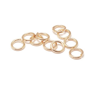Jump Rings Gold Filled 3mm I.D. 22 Gauge Jump Rings, Pack of 10