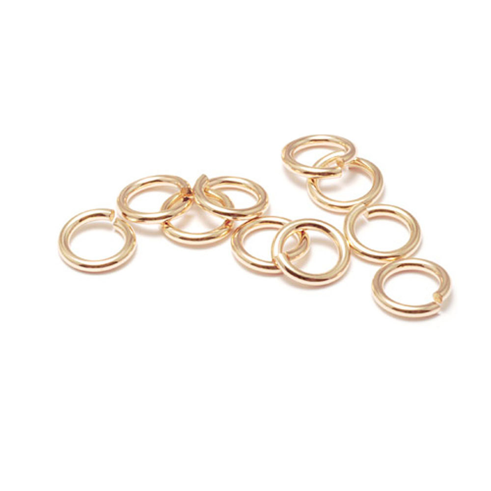 Jump Rings Gold Filled 3mm I.D. 20 Gauge Jump Rings, Pack of 10