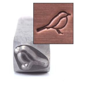 Metal Stamping Tools Bird Metal Design Stamp, 5mm