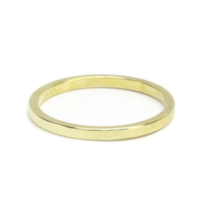 Metal Stamping Blanks Brass Ring Stamping Blank, 1.6mm Wide, SIZE 5