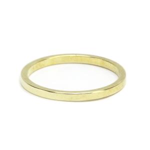 Metal Stamping Blanks Brass Ring Stamping Blank, 1.6mm Wide, SIZE 6