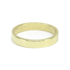 Metal Stamping Blanks Brass Ring Stamping Blank, 3.2mm Wide, SIZE 5