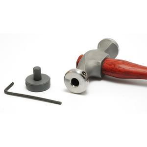 Jewelry Making Tools Fretz Planishing Hammer w/ Rubber Insert