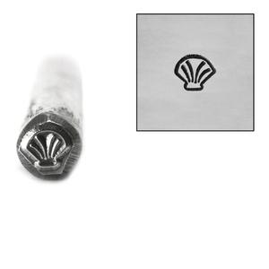 Metal Stamping Tools Seashell Metal Design Stamp, 4.5mm