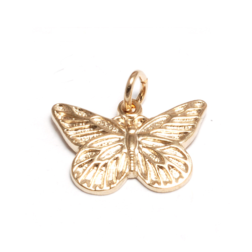 Gold Filled Butterfly Charm